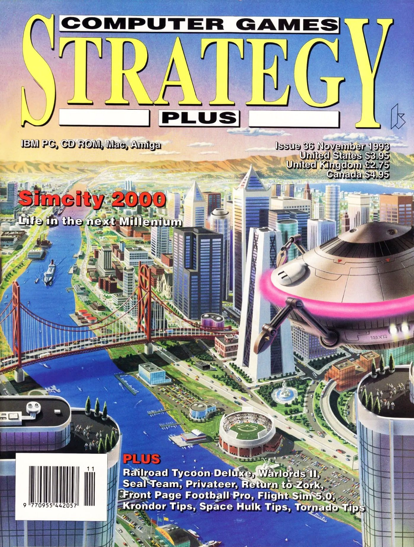 Computer Games Strategy Plus Issue 036 (November 1993)
