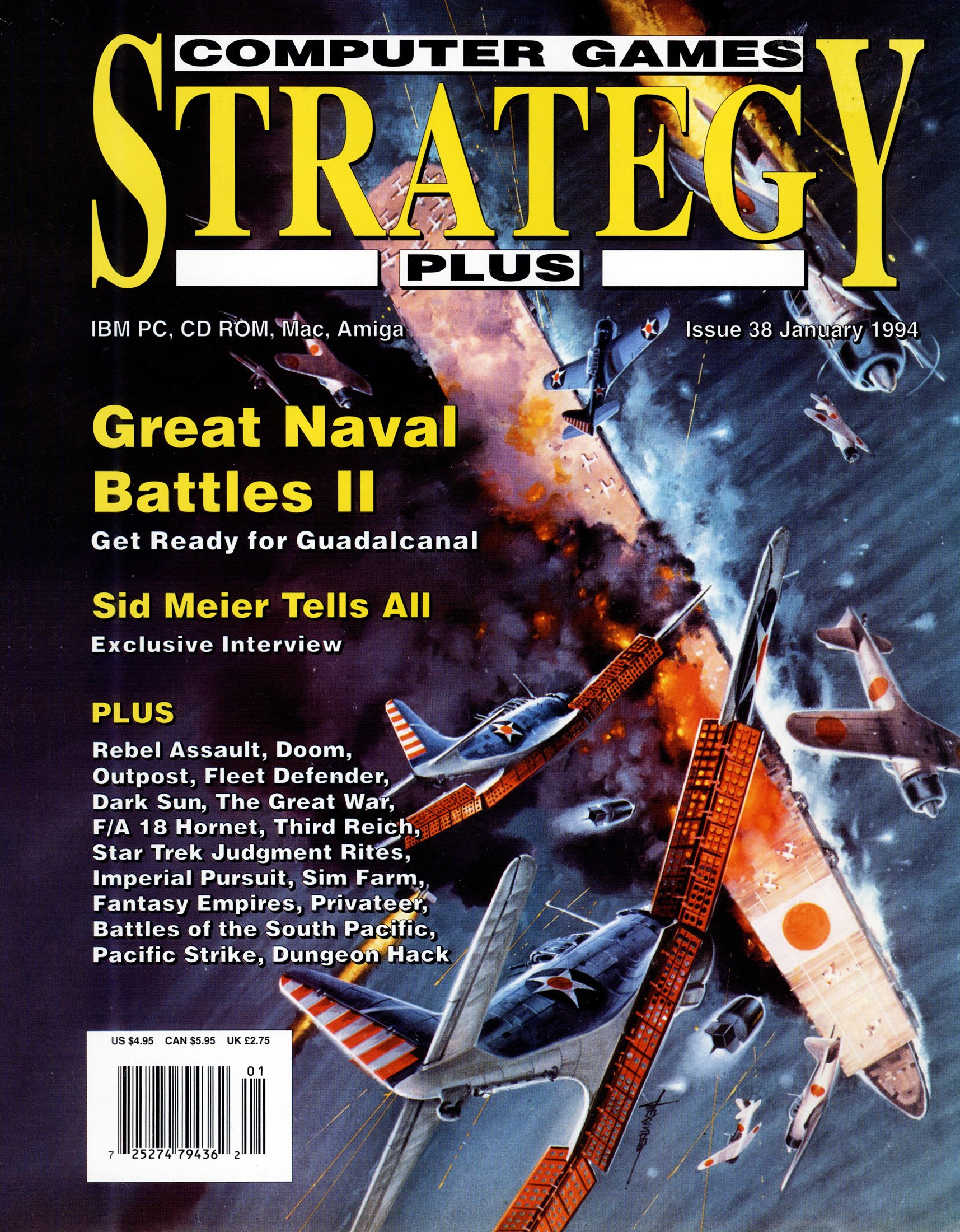 Computer Games Strategy Plus Issue 038 (January 1994)