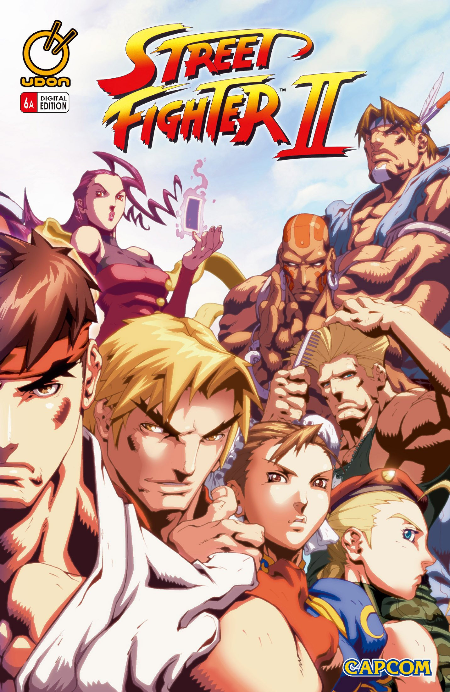 Street Fighter II Issue 6 (November 2006) (cover a)