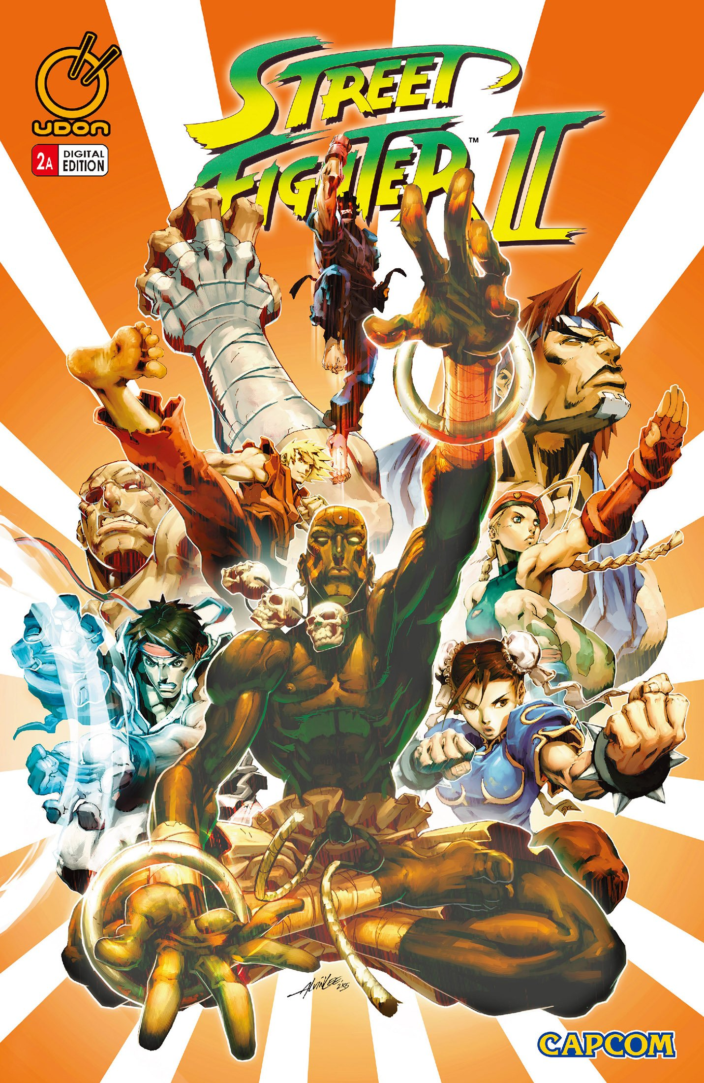 Street Fighter II Issue 2 (December 2005) (cover a)