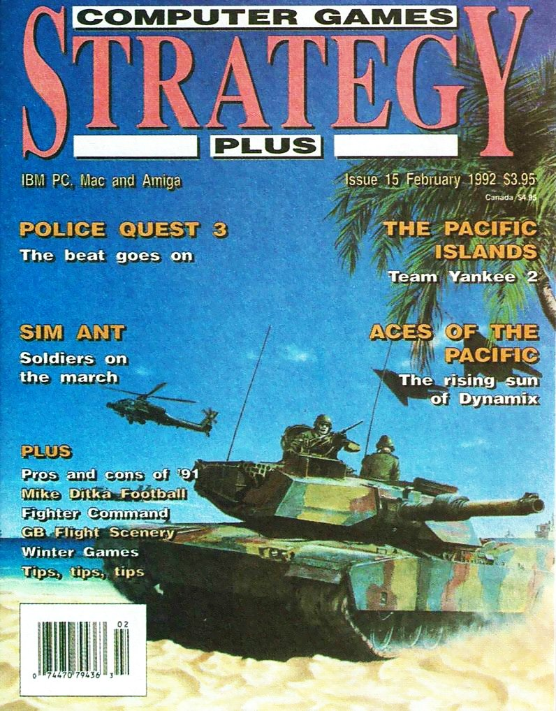 Computer Games Strategy Plus Issue 015 (February 1992) (USA edition)