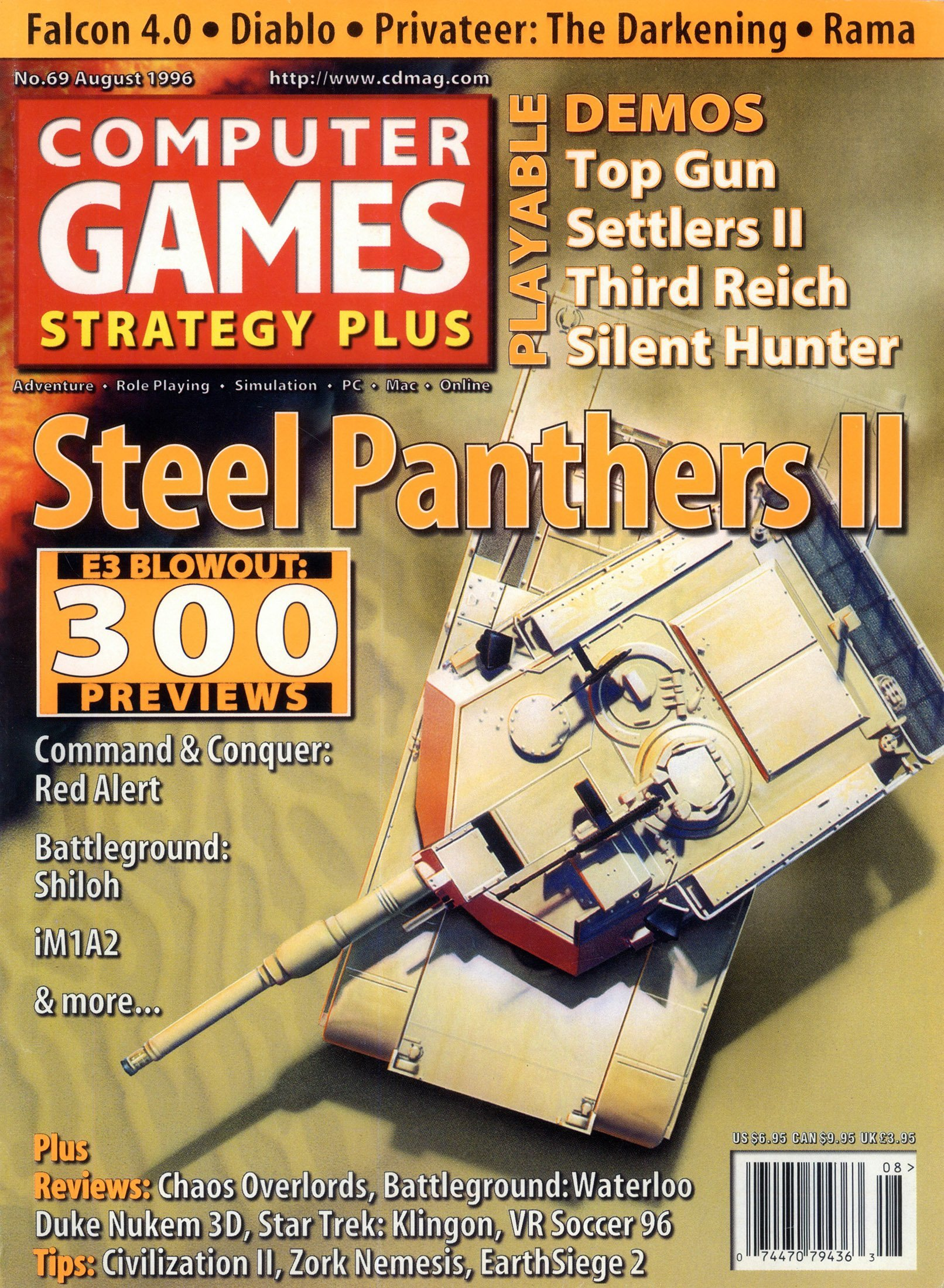 Computer Games Strategy Plus Issue 069 (August 1996)