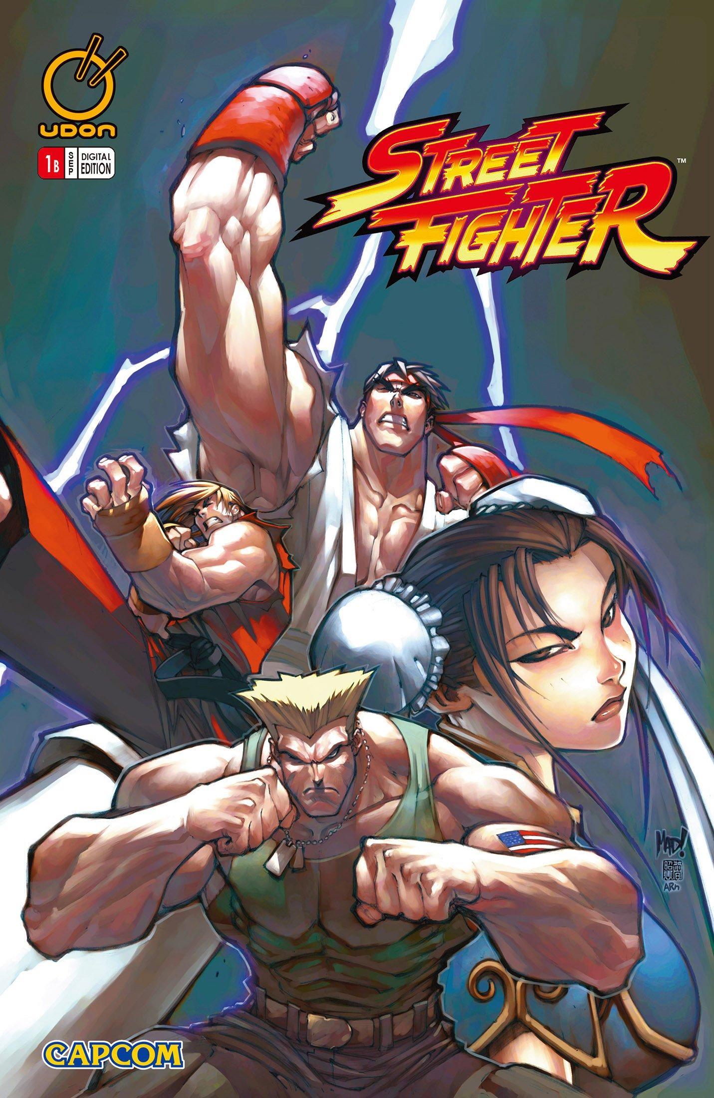 Street Fighter Vol.1 001 (September 2003) (cover b - digital)