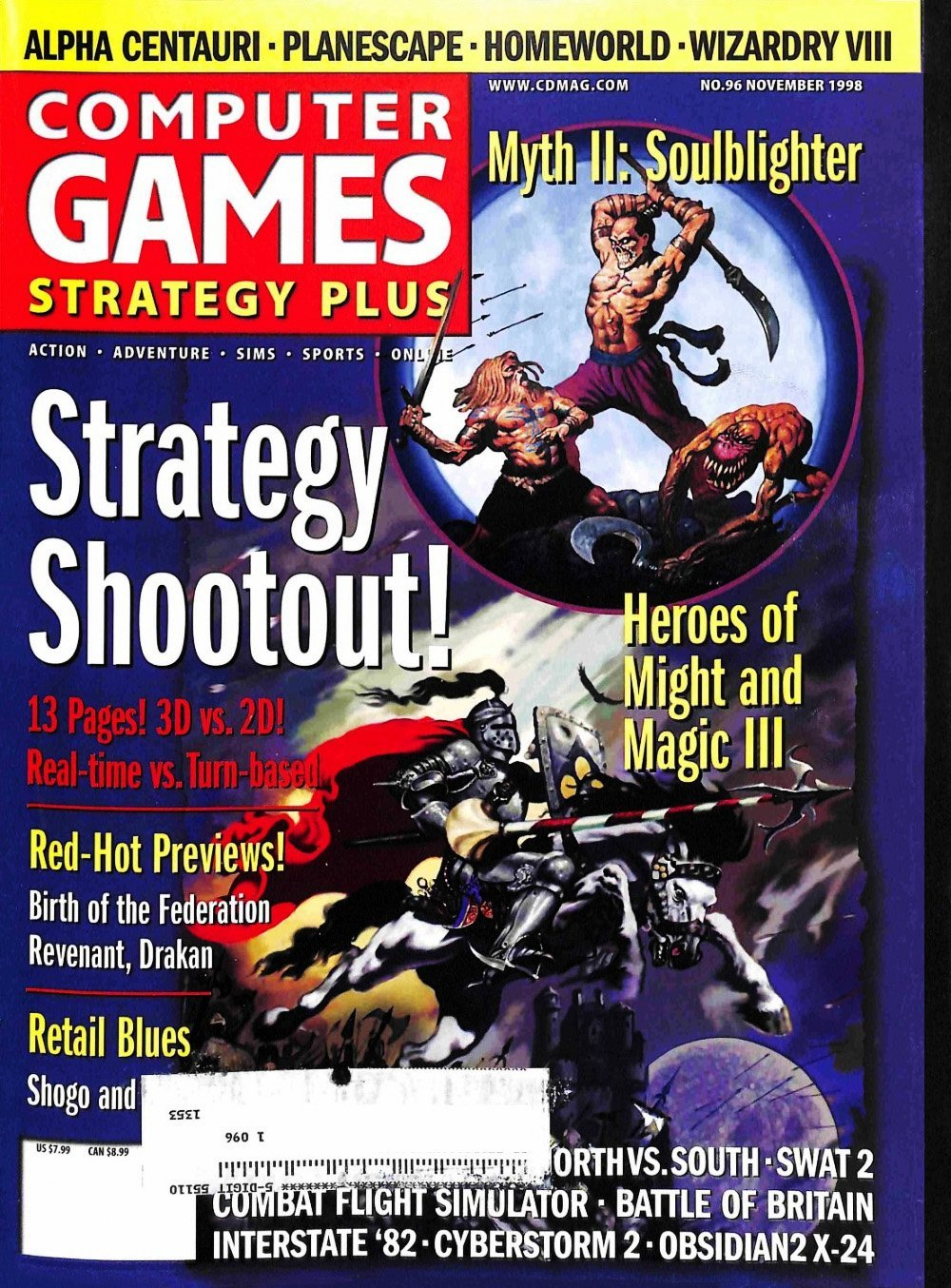 Computer Games Strategy Plus Issue 096 (November 1998)