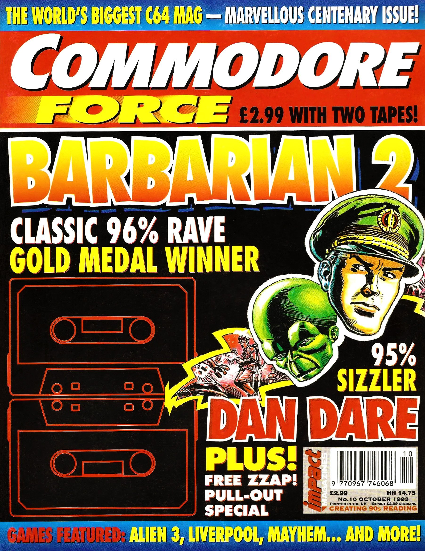 Commodore Force 10 (October 1993)