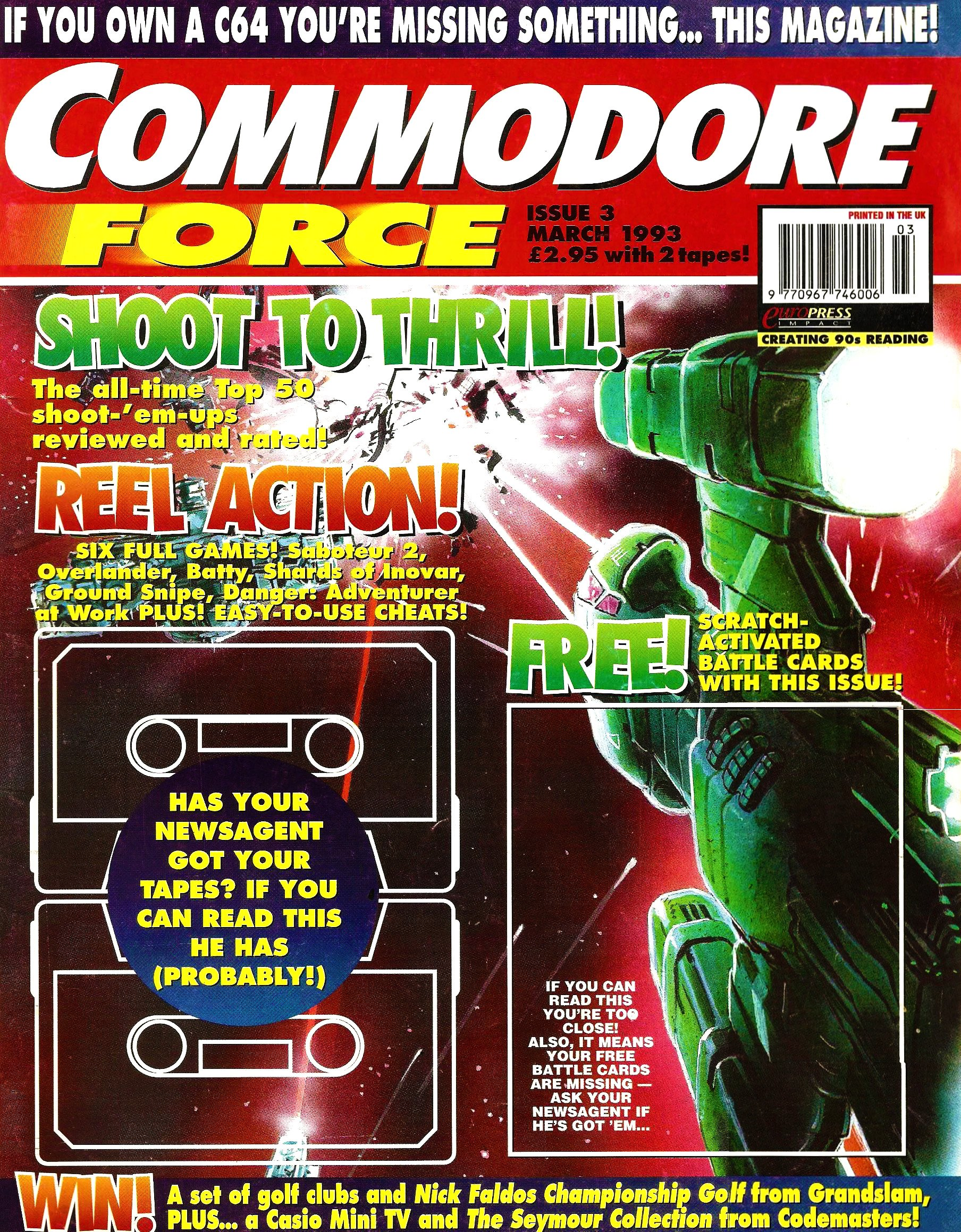 Commodore Force 03 (March 1993)