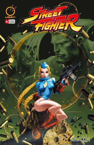 Street Fighter Vol.1 004 (December 2003) (cover b)