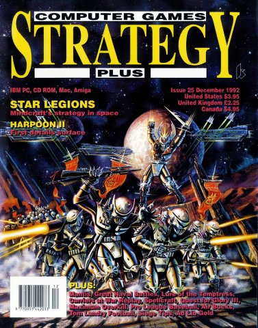 Computer Games Strategy Plus Issue 025 (December 1992)