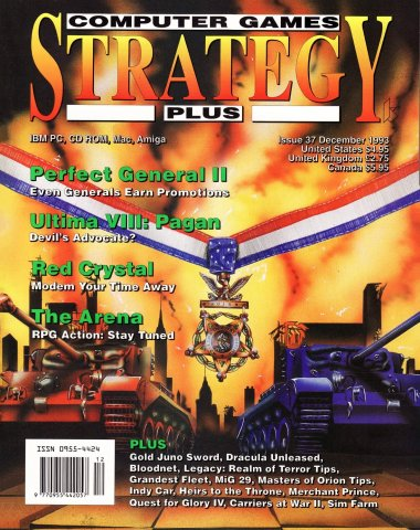 Computer Games Strategy Plus Issue 037 (December 1993)