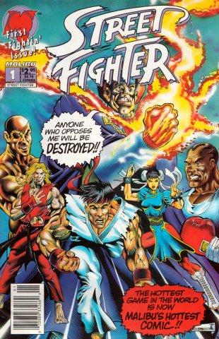 Street Fighter (Malibu Comics)