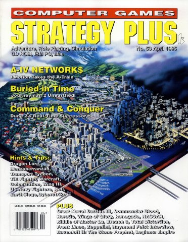Computer Games Strategy Plus Issue 053 (April 1995)