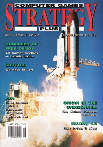 Computer Games Strategy Plus Issue 016 (February 1992) (UK edition)