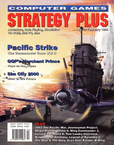 Computer Games Strategy Plus Issue 039 (February 1994)