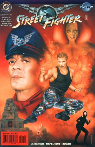 Street Fighter: The Battle For Shadaloo (December 1995)