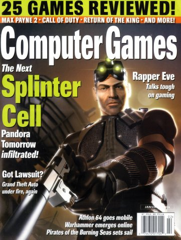 Computer Games Issue 158 (January 2004)