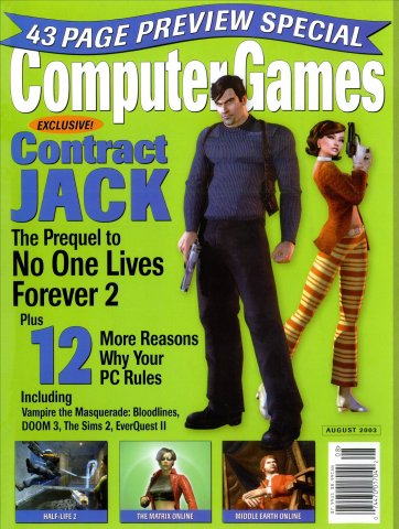 Computer Games Issue 153 (August 2003)