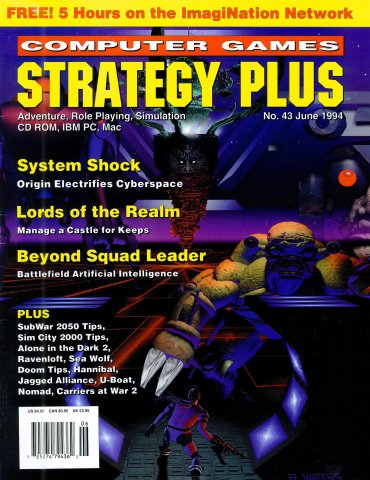 Computer Games Strategy Plus Issue 043 (June 1994)