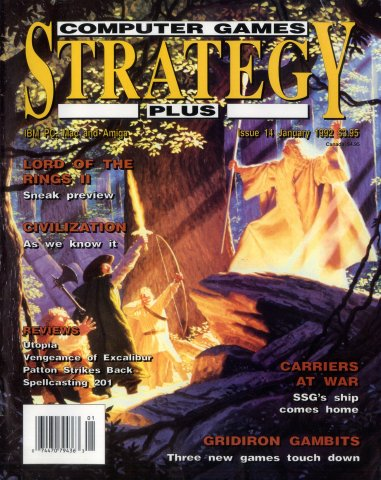 Computer Games Strategy Plus Issue 014 (January 1992)