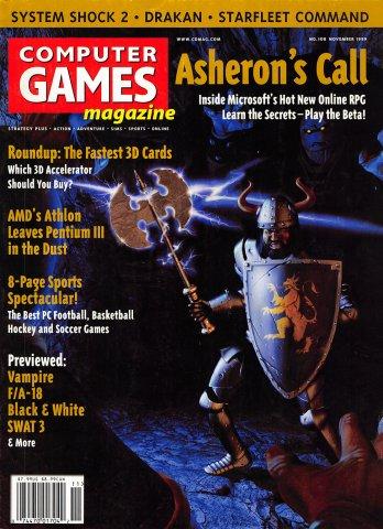 Computer Games Magazine Issue 108 (November 1999)