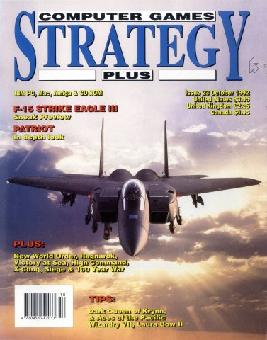 Computer Games Strategy Plus Issue 023 (October 1992)