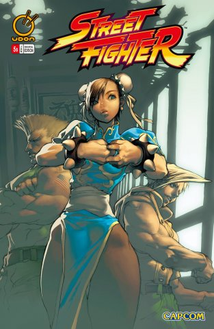 Street Fighter Vol.1 005 (January 2004) (cover b)