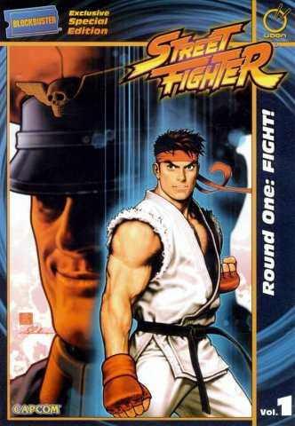 Street Fighter TPB Vol.1 Round One: Fight! (Blockbuster edition)