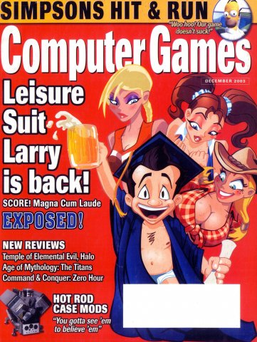 Computer Games Issue 157 (December 2003)