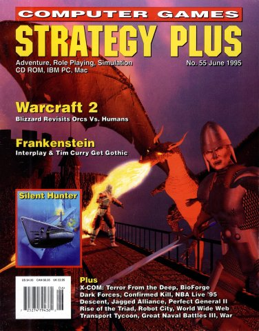 Computer Games Strategy Plus Issue 055 (June 1995)