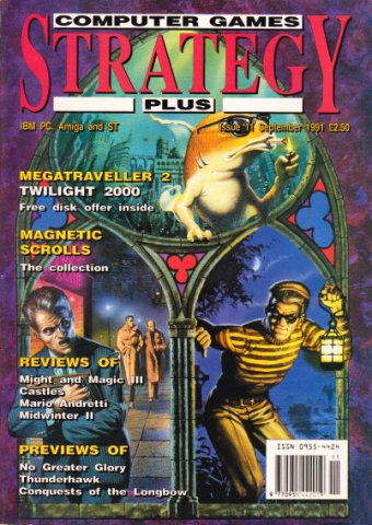 Computer Games Strategy Plus Issue 011 (September 1991) (UK edition)
