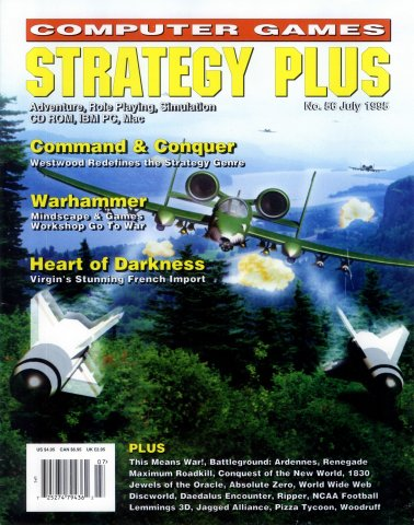 Computer Games Strategy Plus Issue 056 (July 1995)