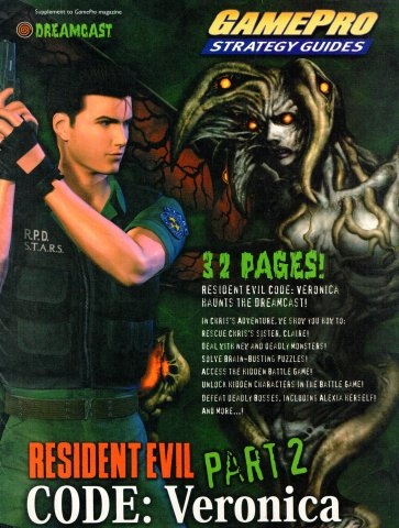 GamePro Strategy Guide - Resident Evil Code Veronica Part 2