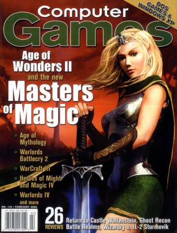Computer Games Issue 135 (February 2002)