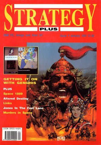 Strategy Plus Issue 04 (January 1991)