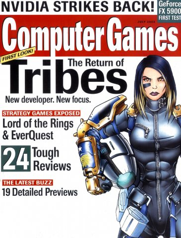 Computer Games Issue 152 (July 2003)
