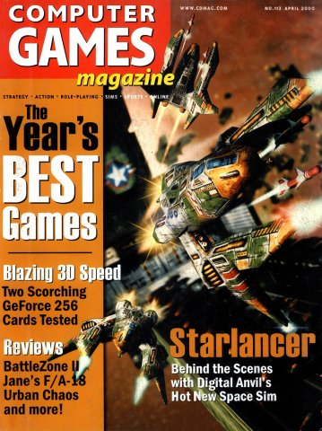 Computer Games Magazine Issue 113 (April 2000)