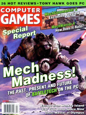 Computer Games Issue 123 (February 2001)