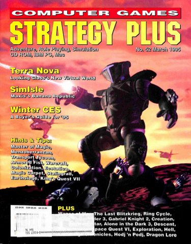 Computer Games Strategy Plus Issue 052 (March 1995)