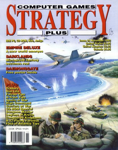 Computer Games Strategy Plus Issue 024 (November 1992)