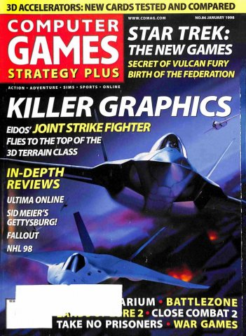 Computer Games Strategy Plus