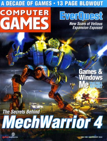Computer Games Issue 120 (November 2000)