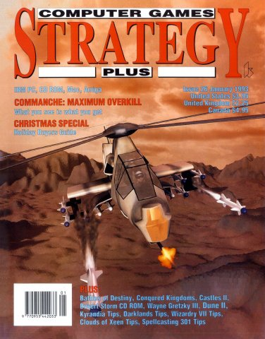 Computer Games Strategy Plus Issue 026 (January 1993)