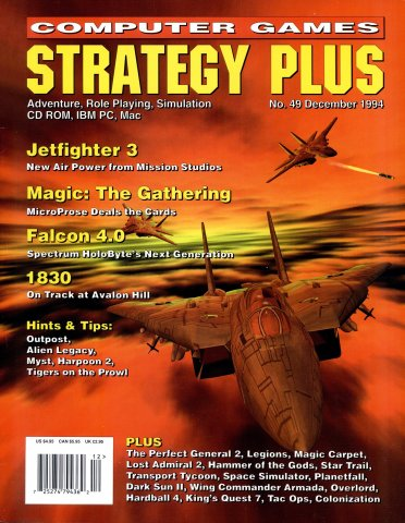 Computer Games Strategy Plus Issue 049 (December 1994)