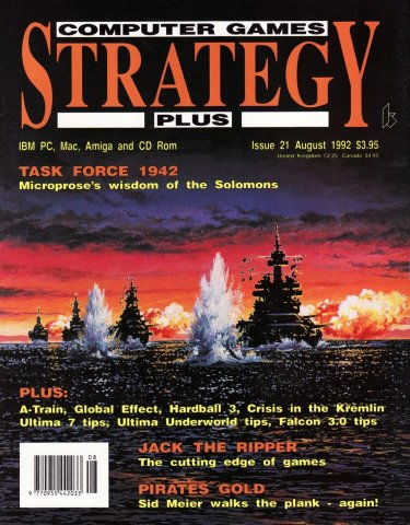 Computer Games Strategy Plus Issue 021 (August 1992)