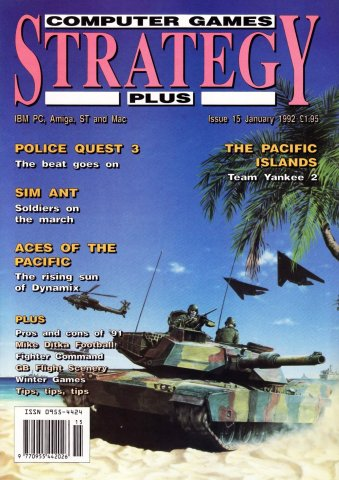 Computer Games Strategy Plus Issue 015 (January 1992) (UK edition)