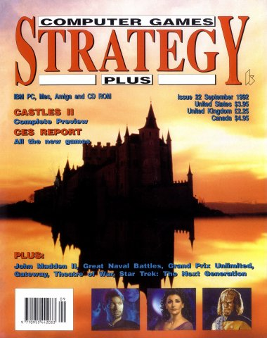 Computer Games Strategy Plus Issue 022 (September 1992)