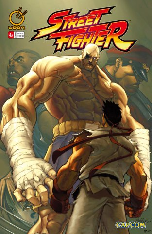 Street Fighter Vol.1 004 (December 2003) (cover a)