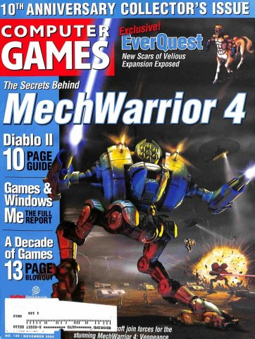 Computer Games Issue 120 (November 2000) *alternate cover*