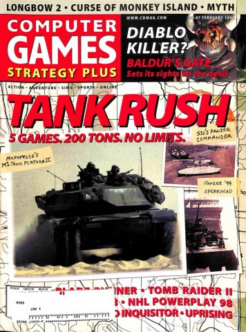 Computer Games Strategy Plus Issue 087 (February 1998)
