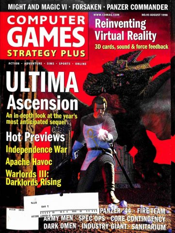 Computer Games Strategy Plus Issue 093 (August 1998)