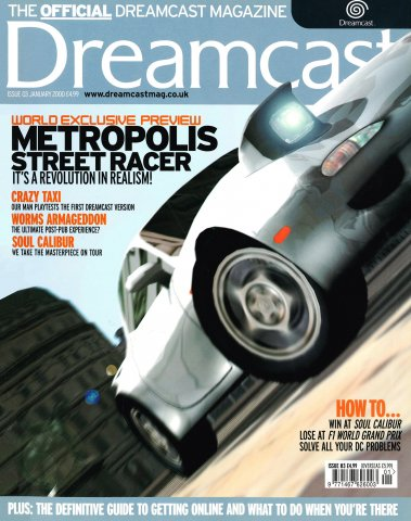 Official Dreamcast Magazine 03 (January 2000)